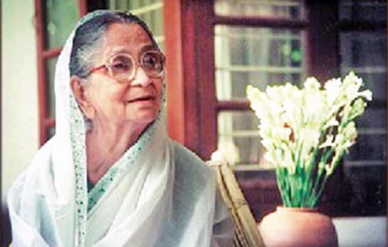 সুফিয়া কামালের ১৮তম মৃত্যুবার্ষিকী আজ